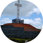 Historic Mt. Soledad veterans memorial cross saved after federal appeals court, prompted by ACLU lawsuit, ruled cross unconstitutional.