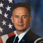 "Oscar Rodriguez, Jr., a Decorated Air Force veteran assaulted and forcibly removed from retirement ceremony over the word ""God"""