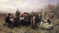 Pilgrims painting