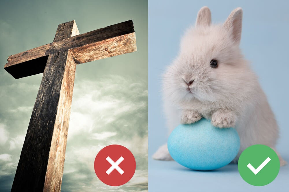 First Liberty Editorial: religious message about Easter on DC area buses and trains