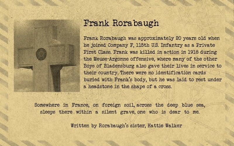 Bladensburg   Frank Rorabaugh   First Liberty