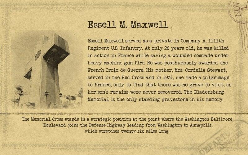 Bladensburg   Essel M Maxwell   First Liberty