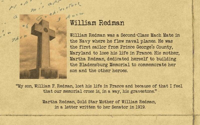Bladensburg   William F Redman   First Liberty