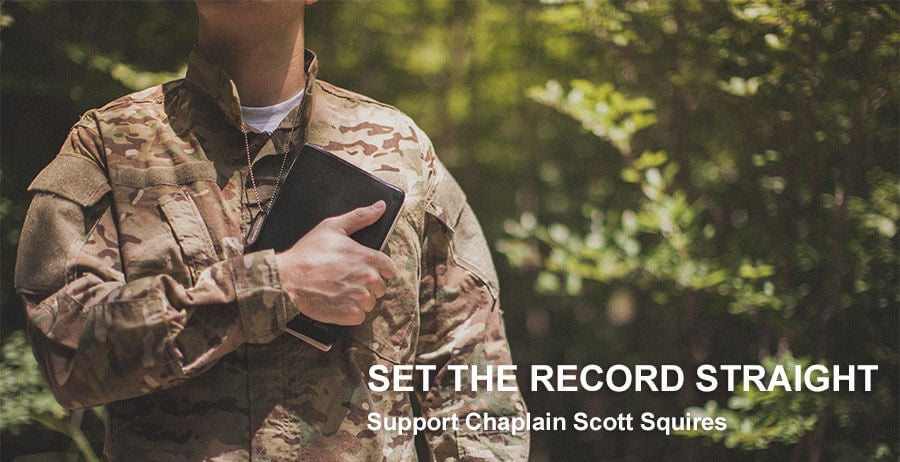 First Liberty | Support Chaplain Scott Squires | Sign the Petition