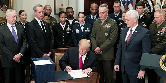 Executive Order to Protect Religious Freedom in the Military | First Liberty