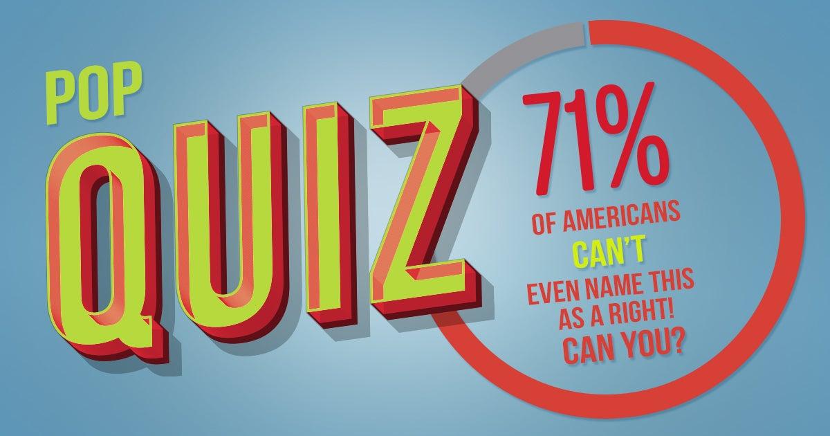 Pop Quiz | First Liberty