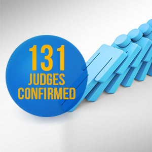 131 Judges Confirmed | First Liberty