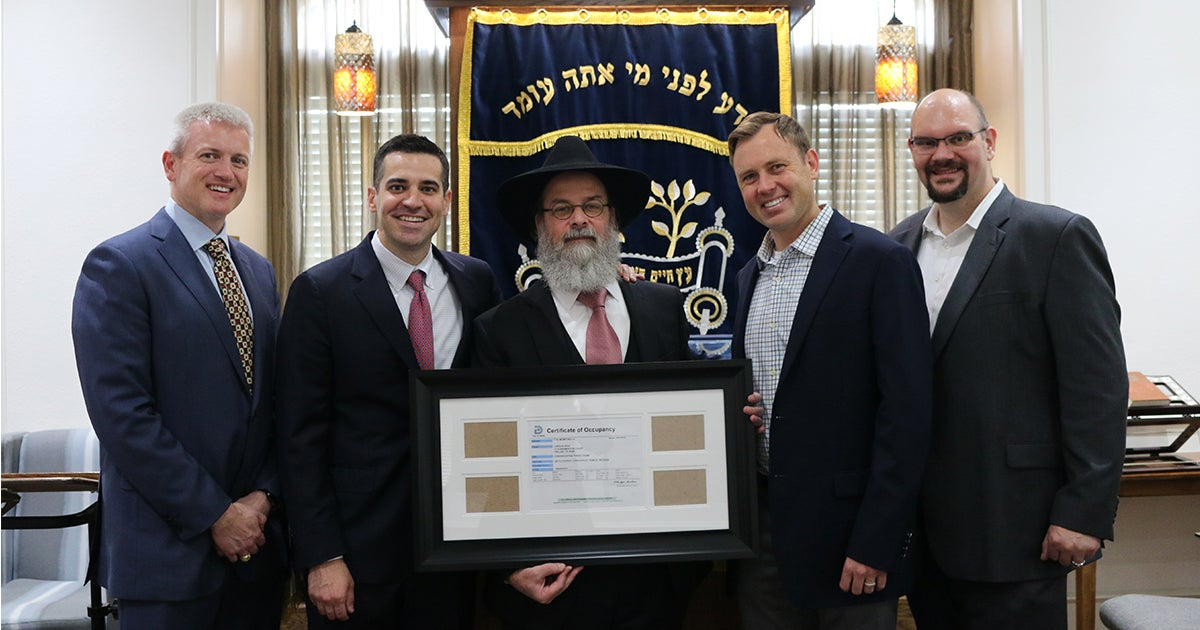 Victory for Small Jewish Congregation | First Liberty