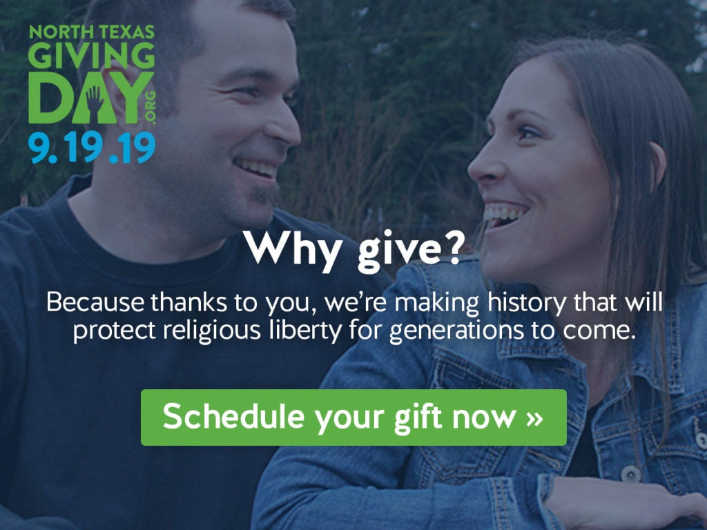 North Texas Giving Day | Schedule Your Gift Today