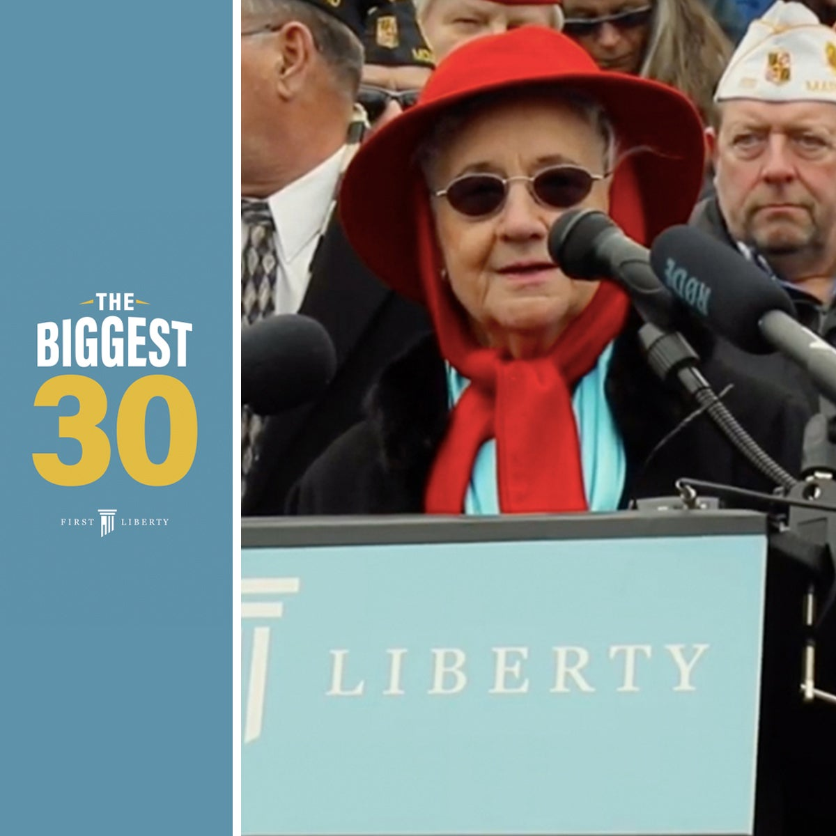 The Biggest 30 | Moment 21 | First Liberty