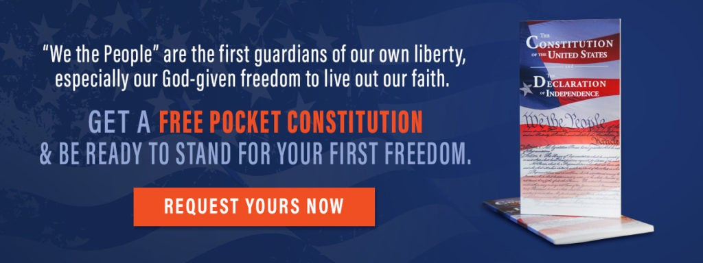 Get Your Free Pocket Constitution | First Liberty