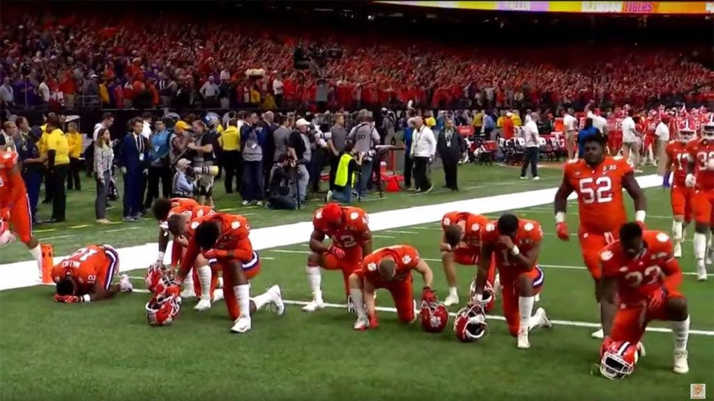Faith on Game Day