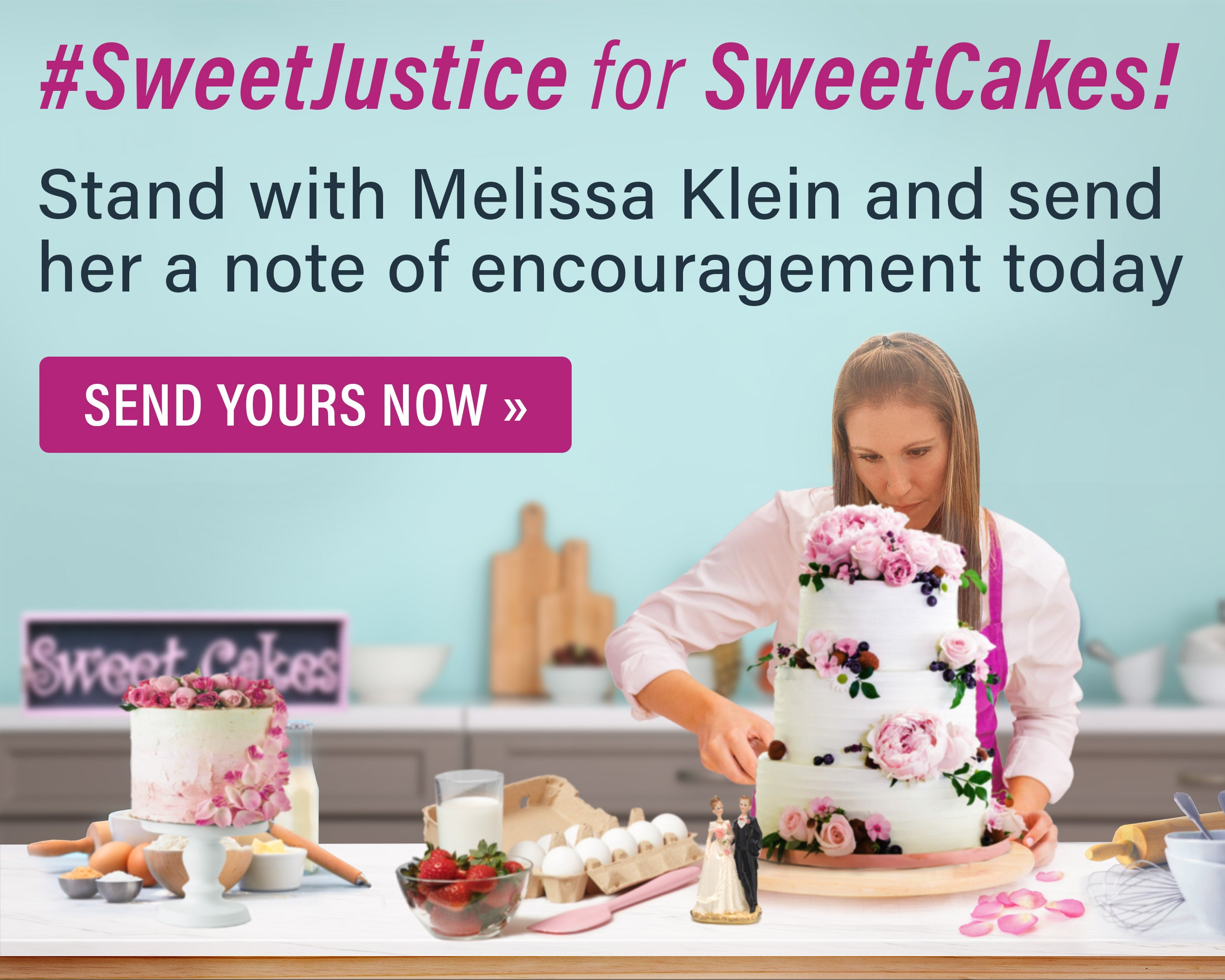 #SweetJustice for SweetCakes | Support Melissa Today | First Liberty