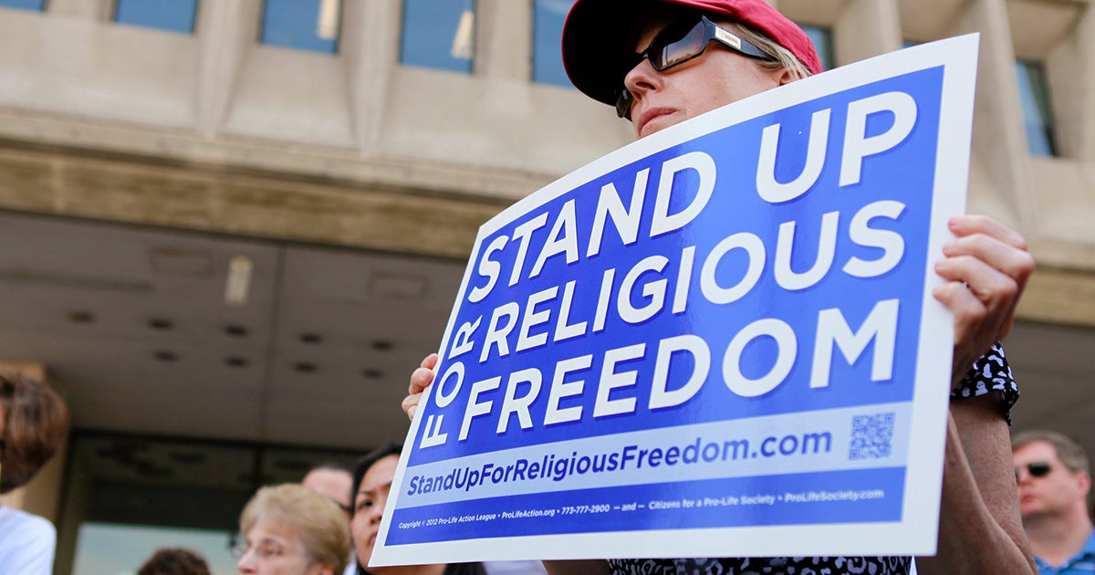 Woman at Religious Freedom Rally | First Liberty