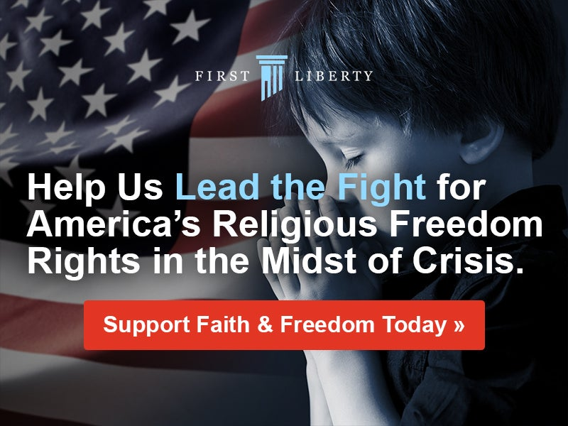 Leading The Fight | First Liberty