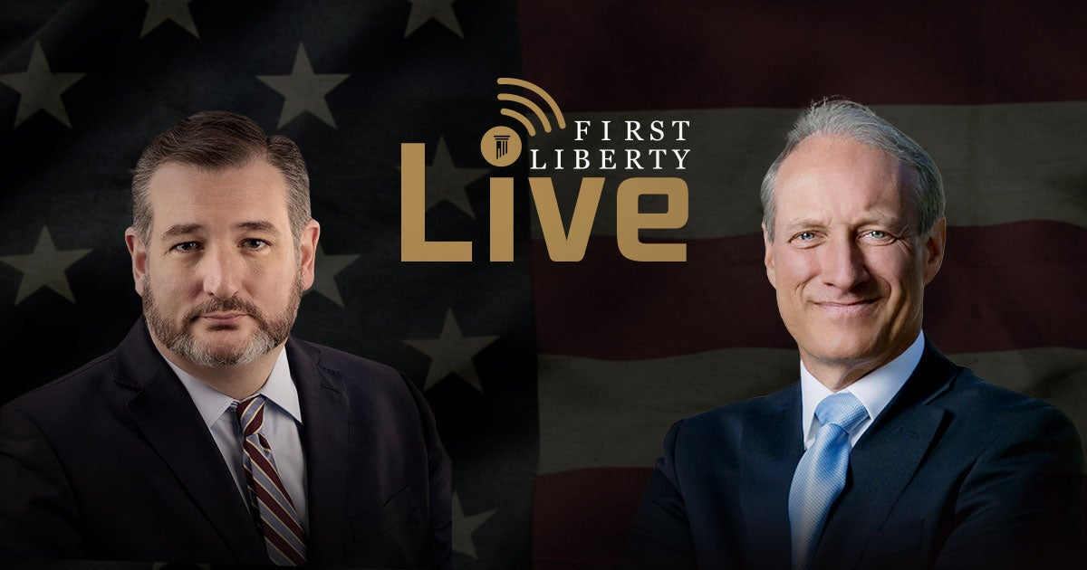 FLI Live! | Ted Cruz | First Liberty
