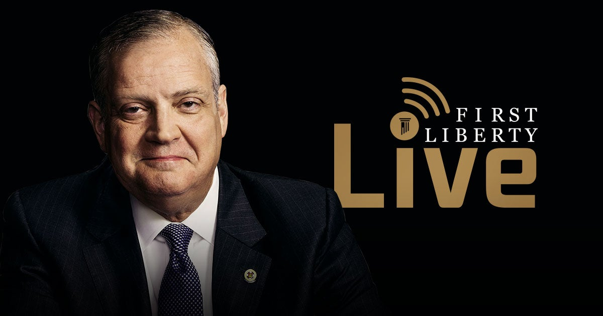 First Liberty Live!   Dr. Albert Mohler