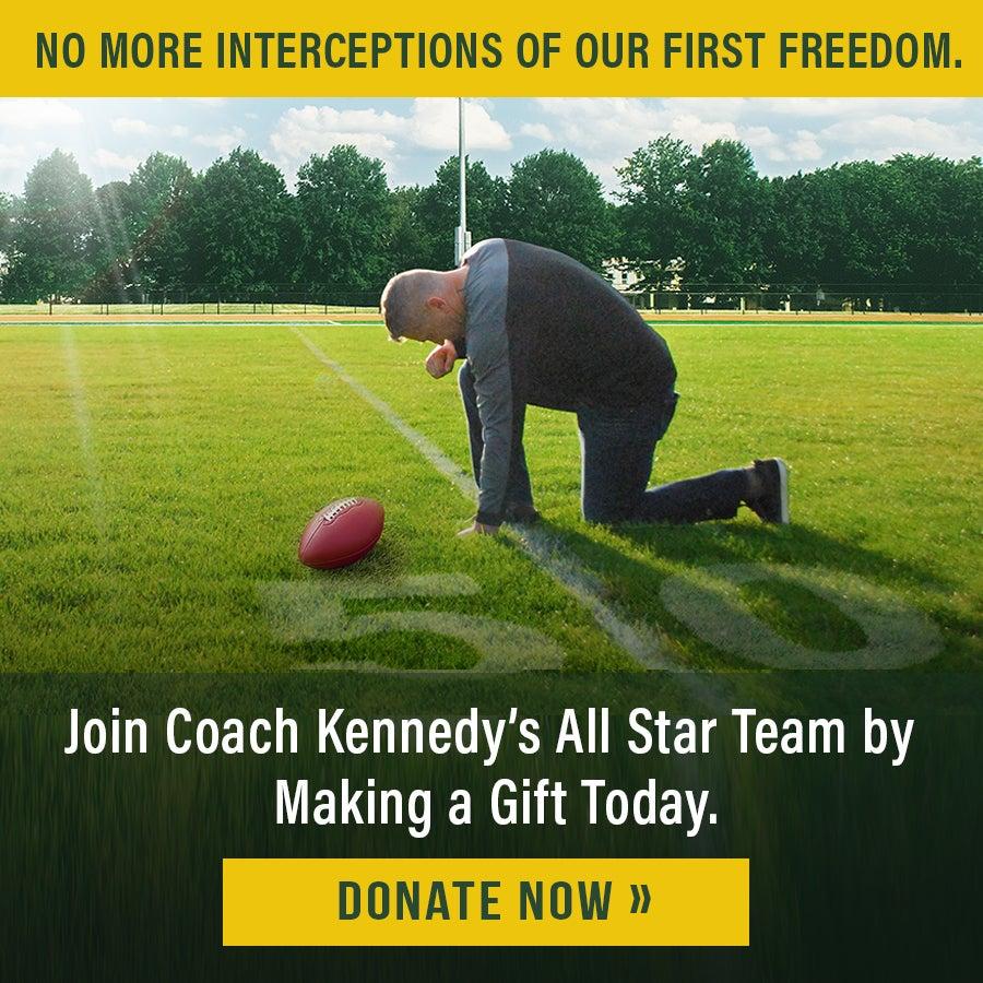 Coach Kennedy Banner