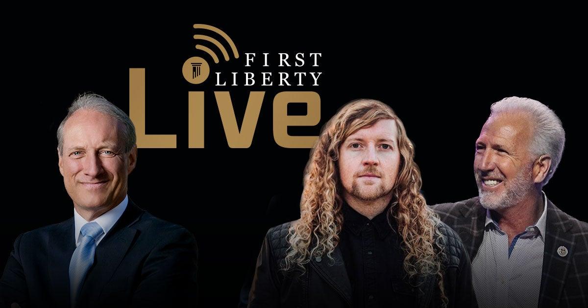 Fli Insder First Liberty Live! | Sean Feucht