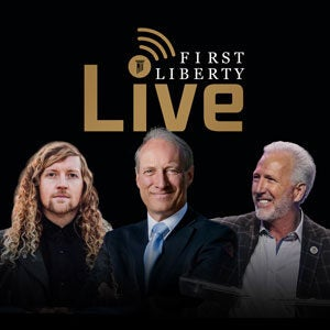 Fli Insder First Liberty Live! | Sean Feucht