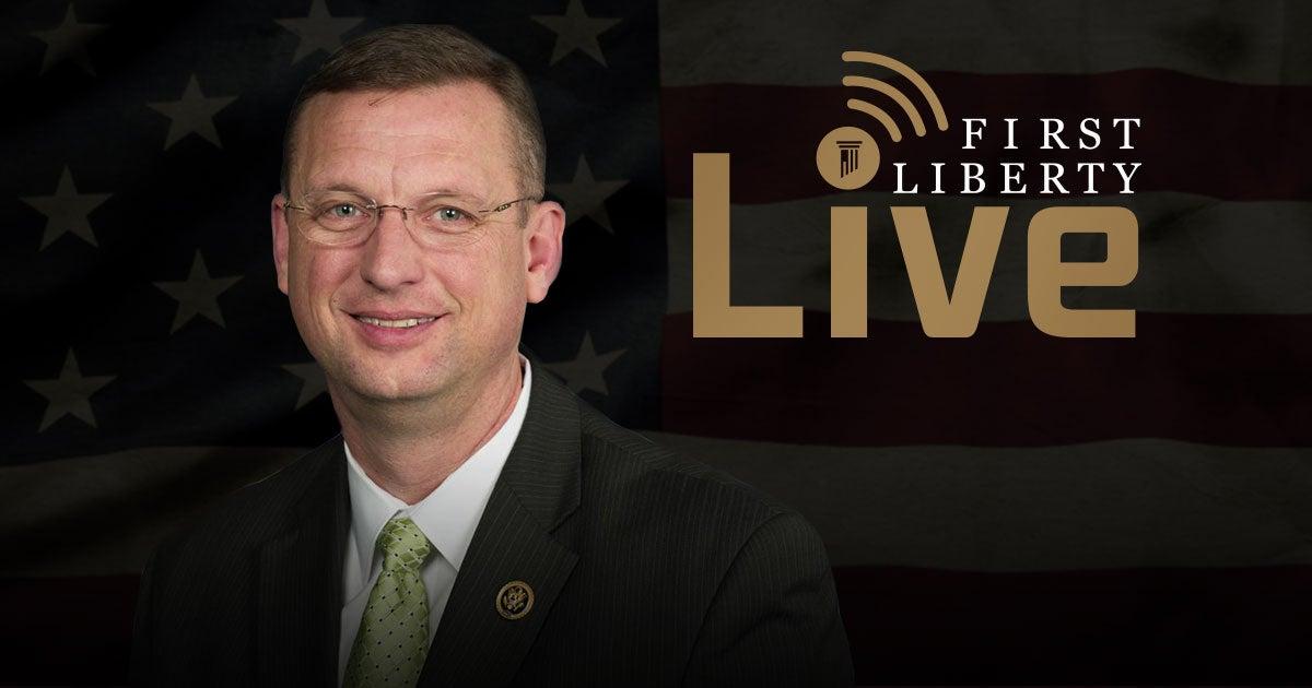 First Liberty Live! Rep Doug Collins