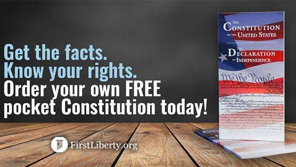 Get Free Resources | First Liberty Live!