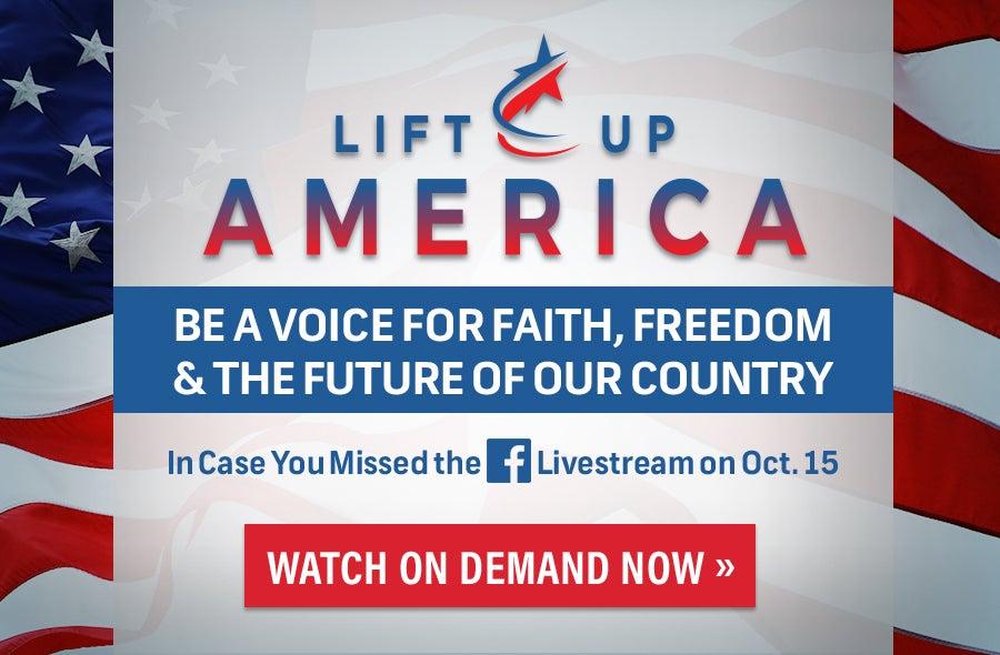 Lift Up America Banner V2