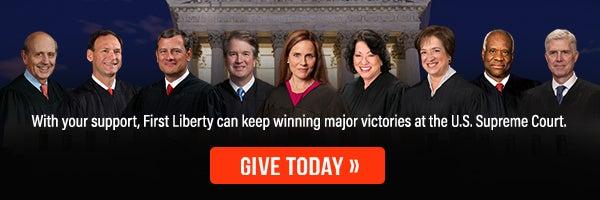 SCOTUS Justices Slim Banner