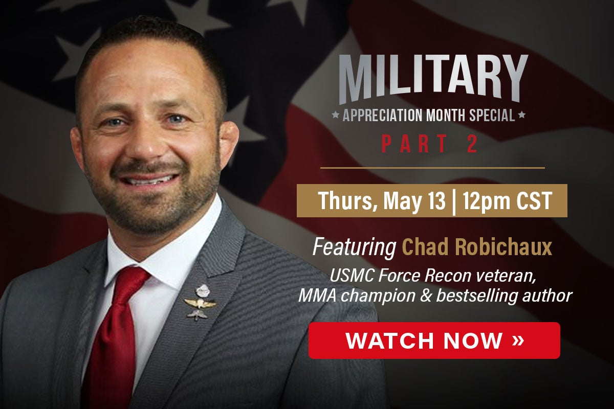 Chad Robinchaux Military Month | Watch Now | First Liberty