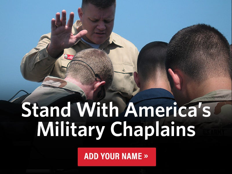 Support our Chaplains   Add your Name
