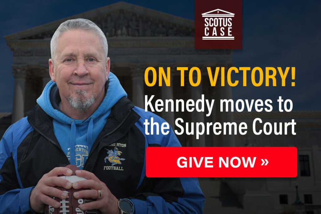 On To Victory | Coach Kennedy Moves to Supreme Court | Give Now